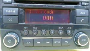Nissan Radio unit LCD repair